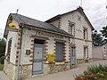 Chargé (Indre-et-Loire) la deuxième ancienne gare, aussi ancienne PTT.JPG
