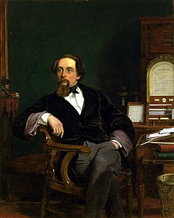 William Powell Frith's portrait of Dickens; 1859.[130]