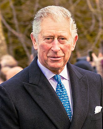 Charles, Prince of Wales - The Prince of Wales on Christmas Day 2017