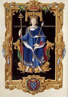 V. Károly francia király