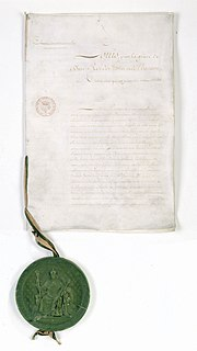 Charter of 1814 constitution