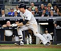 Chase Headley during game against Dodgers 9-13-16.jpeg