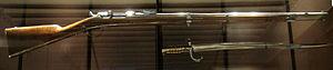 Château des Rohan (Mutzig) - Chassepot gun model 1866 made in Mutzig in 1869