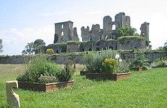 Le château de Lagarde