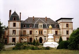 The chateau in Marzens