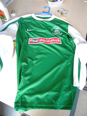 Cheadle Town F.C. - Image: Cheadle Town FC New Shirt 2011 2012