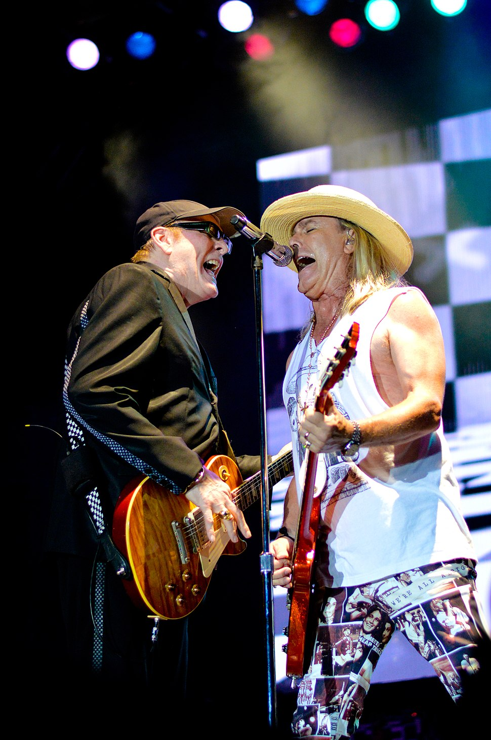 Cheap Trick live at Rockfest 80's in 2017