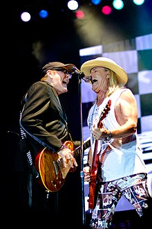 Rick Nielsen and Robin Zander of Cheap Trick