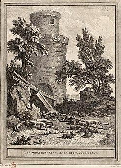 Chedel-Oudry-La Fontaine - Le Combat des rats et des belettes.jpg