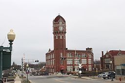 Chelsea Michigan Clocktower.JPG
