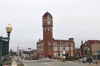 Chelsea, Michigan - Chelsea clocktower