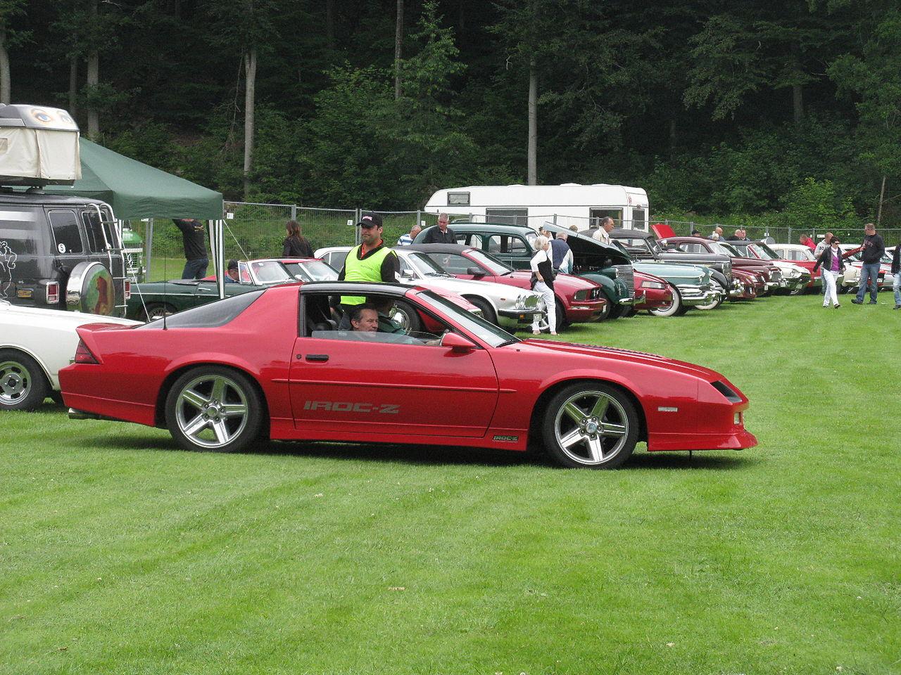 Iroc Z Wiki >> File:Chevrolet Camaro IROC-Z (9196159902).jpg - Wikimedia ...