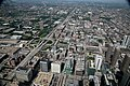 "Chicago (ILL) Willis Tower ( Ex. SEARS Tower ) 1974, Near West Side, expressways 290 W. Eisenhower, 94, 90. "" traffic "" (4800139245).jpg"