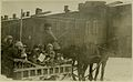 Children at Kazachi Post wagon ride through snow Alexandropol Armenia 1920.jpg