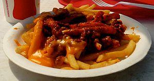 Cheese fries - Chili cheese fries