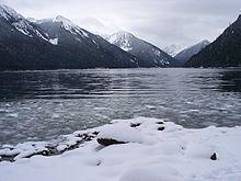 North Point Ford >> Chilliwack Lake - Wikipedia