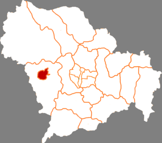 Jingxing Mining District District in Hebei, Peoples Republic of China