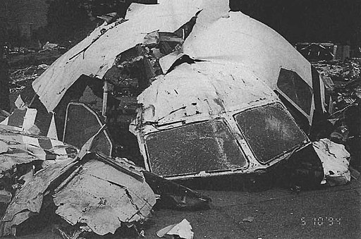 China Airlines Flight 140 wreckage 2