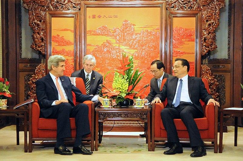 Chinese Premiere Li Greets Secretary Kerry in Beijing (12517506424).jpg