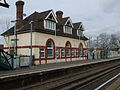 Chipstead station look north to old building.JPG
