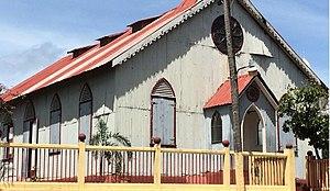 Samaná (town) -  La Chorcha, St. Peter's Evangelical Church (former Wesleyan)