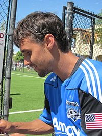 Chris Wondolowski at Galaxy at Earthquakes 2010-08-21 2.JPG
