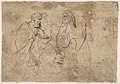 Christ and the Pharisees; verso; Christ and a Pharisee MET DP802094.jpg