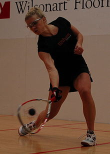 Christie Van Hees at 2007 US Open Racquetball Championships.jpg