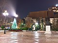 Christmas decorations in Metropoleos (Cathedral) Square.jpg