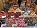 Christmas market in 2015 Deák Street. Sweets. - Budapest.JPG