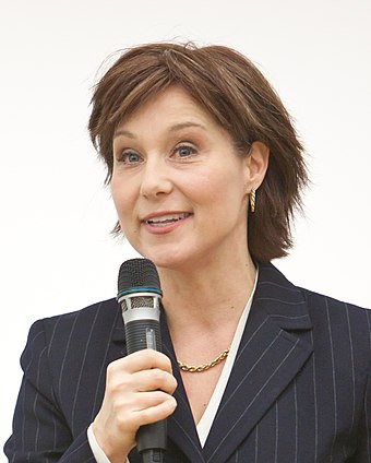 Christy Clark was Premier of British Columbia from 2011 until 2017. Christy Clark by Kris Krug 01 (cropped).jpg