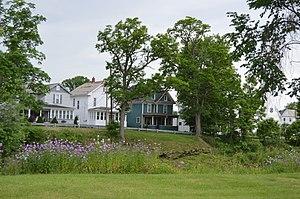 Summerville, Pennsylvania - Houses along Redbank Creek