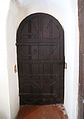 Church of St Andrew, Willingale, Essex, England - interior nave south door.JPG