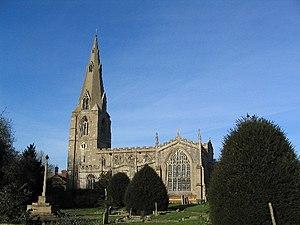 Langham, Rutland - Image: Church of St Peter and St Paul, Langham geograph.org.uk 82547