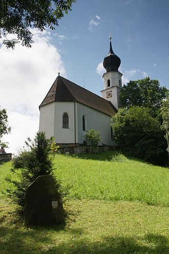 Ainring - Image: Church st laurentius ainring bavaria germany
