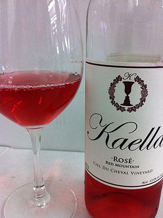 Rosé - A rosé wine from Washington.