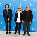 Cillian Murphy, Sally Potter und Bruno Ganz Photo Call The Party Berlinale 2017.jpg