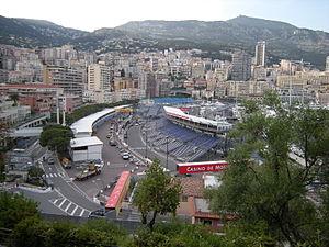 2017 Monaco ePrix - Circuit de Monaco (pictured in 2009), where the race was held.