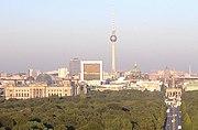 Berlin ist mit 3,4 Millionen Einwohnern die bevölkerungsreichste Stadt in Deutschland.