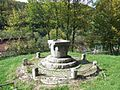 Ciucea castle roman fountain 2.JPG