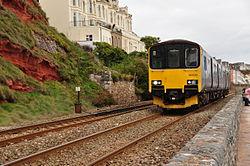 Class 150 on the sea wall near Dawlish (7243).jpg