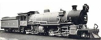 South African Class MC1 2-6-6-0 - Image: Class MC1 no. 1642