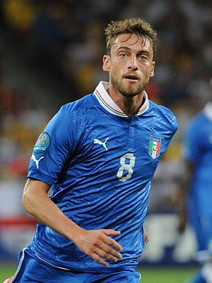 Claudio Marchisio - Marchisio with Italy in 2012
