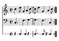 Clave del son, con melodía y bajo.png