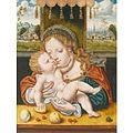 Cleve Joos van - Madona s dítětem (1485).jpg