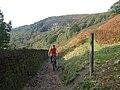Climbing up to Kinder Reservoir - geograph.org.uk - 301522.jpg