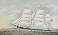 Clipper ship 'Evangeline' at sea RMG PY8543.jpg