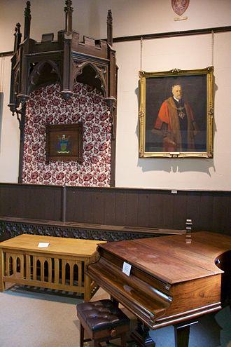 Clitheroe Library - Image: Clitheroe Castle Museum editathon 122