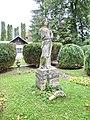 Cluj-Napoca Gradina Botanica Gradina Romana statuia zeitei Ceres.jpg