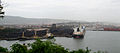 Coal and Ore Handling at Vizag Harbour 01.jpg